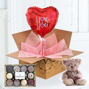I Love You Balloon Gift Set