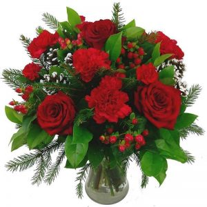 Christmas Roses & Carnations