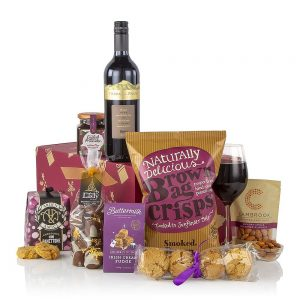 Christmas Red Wine and Treats